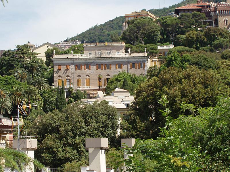 Villa Piaggio Corso Firenze  Genova